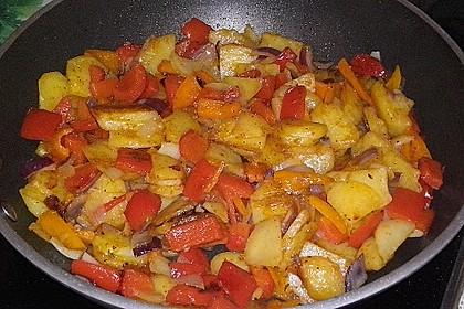 Bratkartoffeln aus rohen Kartoffeln 30
