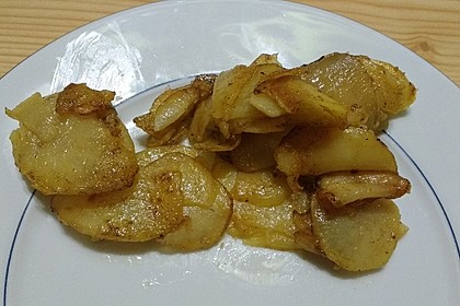 Bratkartoffeln aus rohen Kartoffeln 42