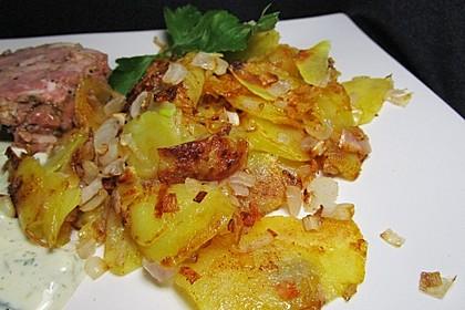 Bratkartoffeln aus rohen Kartoffeln 7