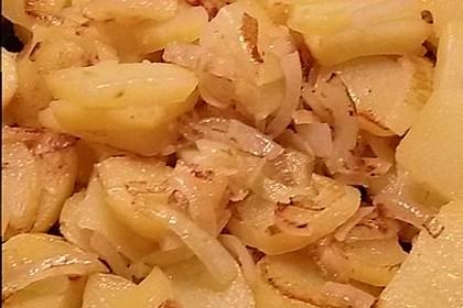 Bratkartoffeln aus rohen Kartoffeln 34