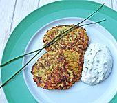 Kartoffel-Zucchini-Puffer (Bild)