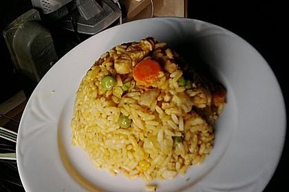 Curryreis mit Hähnchen 6
