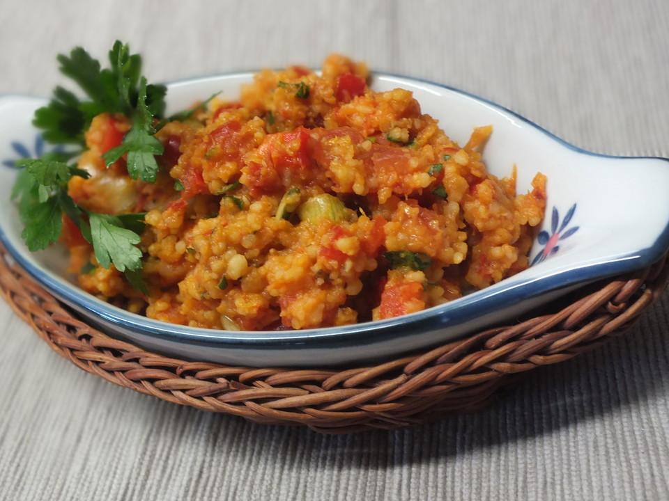 Veggie Sommerküche : Linsen bulgur salat von viniferia chefkoch