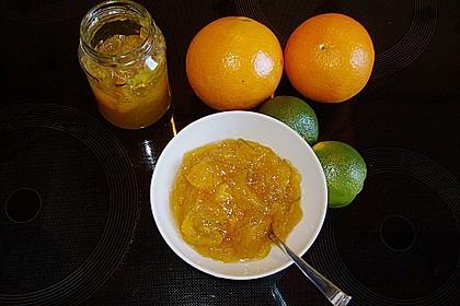 Orangen-Limetten-Marmelade (Bild)