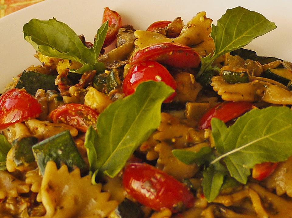 Vegetarische Sommerküche Rezepte : Sommer nudelsalat italienischer art von baumfrau chefkoch.de