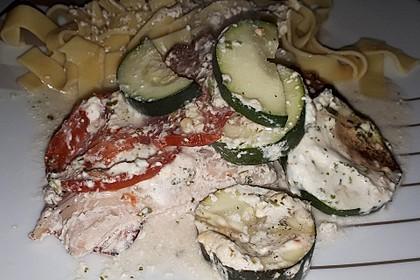 Bresso - Hähnchen überbacken mit Tomaten 9