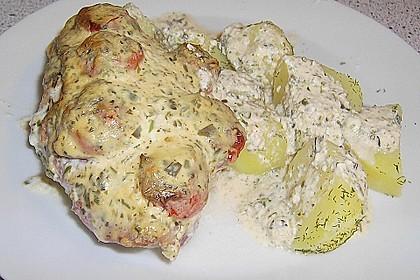 Bresso - Hähnchen überbacken mit Tomaten 11