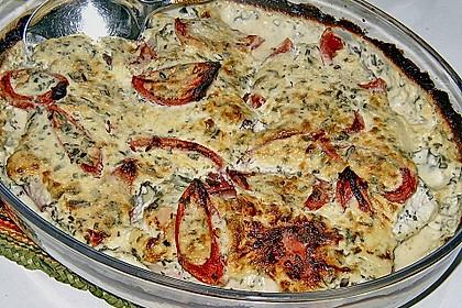 Bresso - Hähnchen überbacken mit Tomaten 13