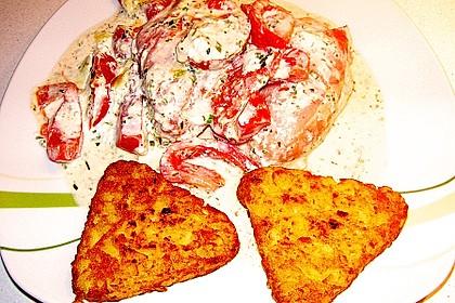 Bresso - Hähnchen überbacken mit Tomaten 32