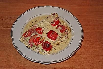 Bresso - Hähnchen überbacken mit Tomaten 6