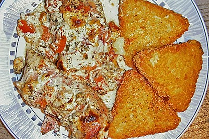 Bresso - Hähnchen überbacken mit Tomaten 19