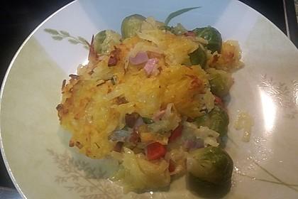 Überbackener Rosenkohl mit Kartoffelkruste 4