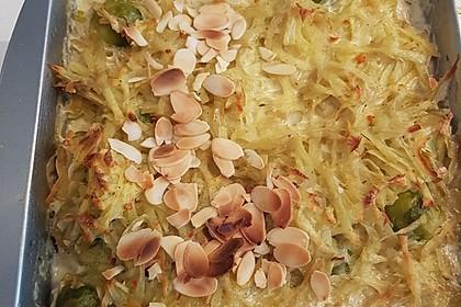 Überbackener Rosenkohl mit Kartoffelkruste 14