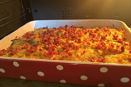 Überbackener Rosenkohl mit Kartoffelkruste 12
