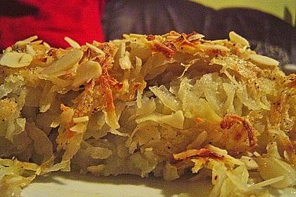 Überbackener Rosenkohl mit Kartoffelkruste 34
