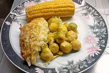 Überbackener Rosenkohl mit Kartoffelkruste 8