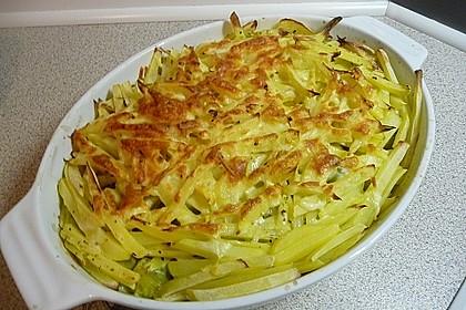 Überbackener Rosenkohl mit Kartoffelkruste 1