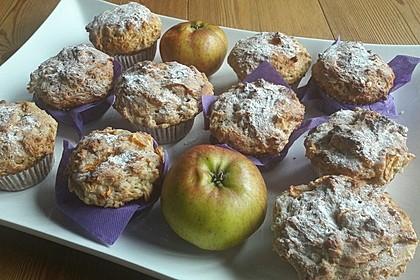 Apfel - Quark - Muffins 27