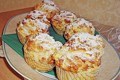 Apfel - Quark - Muffins 10