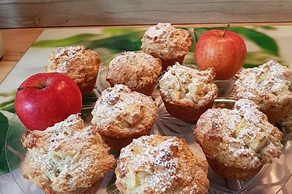 Apfel - Quark - Muffins 6