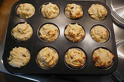 Apfel - Quark - Muffins 24