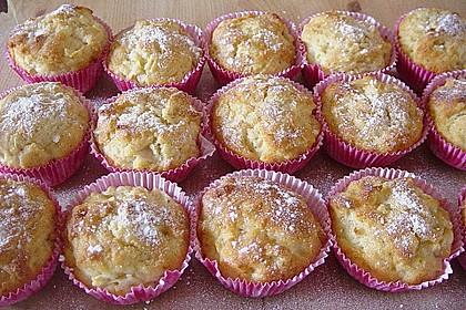 Apfel - Quark - Muffins 2