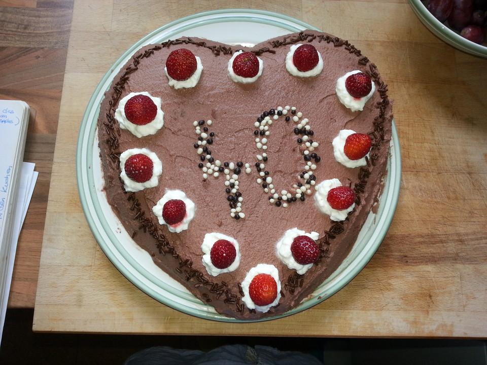 Schokoladen Sahne Torte Ganz Einfach Chefkoch De