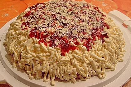 Spaghetti - Torte 4