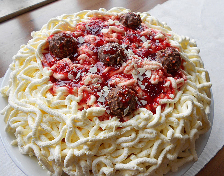Spaghetti Torte Von Mery Chefkoch De