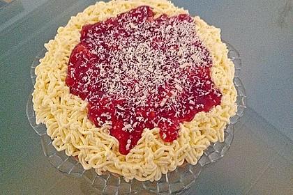 Spaghetti - Torte 1