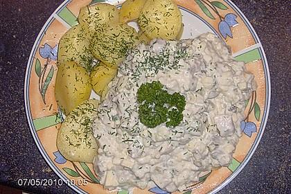 Heringssalat mit Pellkartoffeln 2