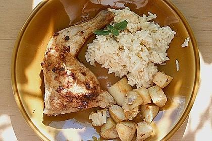 Portugiesisches Hähnchen aus dem Ofen 12
