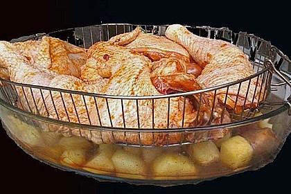 Portugiesisches Hähnchen aus dem Ofen 23