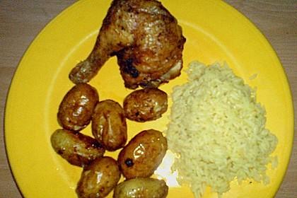 Portugiesisches Hähnchen aus dem Ofen 24