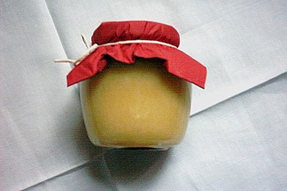 Apfel - Orangen Konfitüre mit Marzipan 6