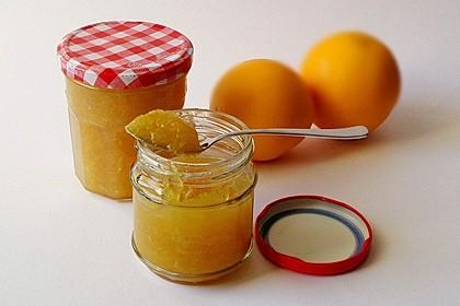Orangenmarmelade (Bild)