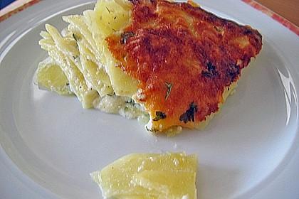Einfacher Kartoffelgratin 4
