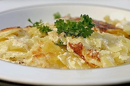 Einfacher Kartoffelgratin 1