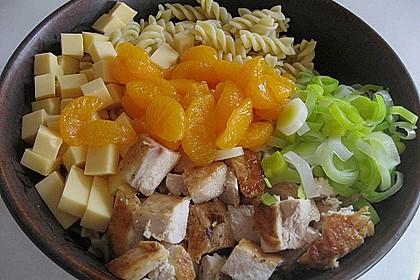 Geflügel - Nudelsalat mit Mandarinen 2