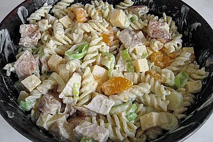 Geflügel - Nudelsalat mit Mandarinen 3