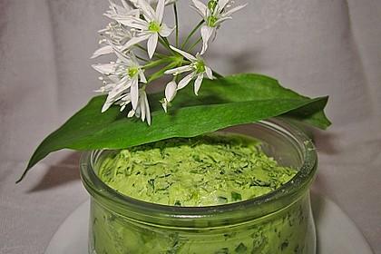 Bärlauch-Rucola-Butter 3