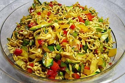 Nudelsalat asiatisch 2