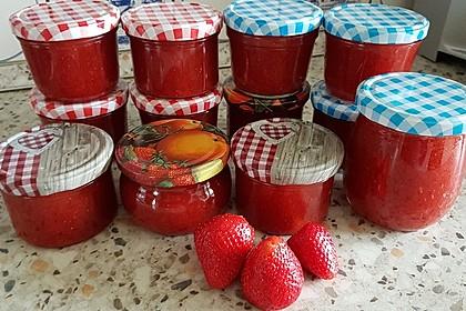 Erdbeer-Rhabarber-Marmelade 3