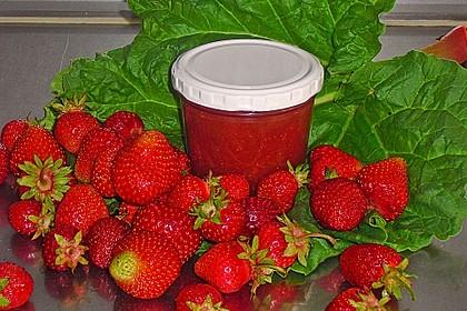 Erdbeer-Rhabarber-Marmelade 2