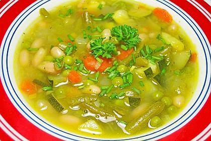 Feine Gemüsesuppe 1