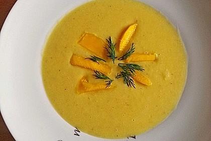 Mango-Kokossuppe