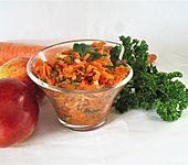 Karotten-Apfel-Salat (Bild)