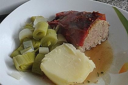 Gefüllte Paprika und Elefantenpopel mit Käse