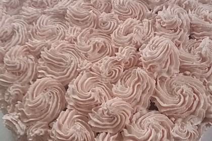 Pinker Herzkuchen