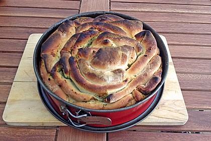 Kräuter-Zupfbrot in der Springform 80